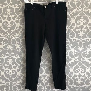 Michael Kors Cropped Leggings with Faux Pockets